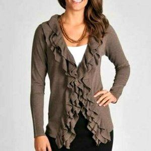 Grace Elements Spring Weight Sweater L NEW Brown